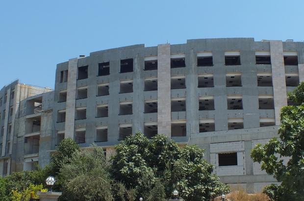 Anamur Devlet Hastanesi inşatı yeniden başladı