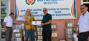 Büyükşehirden Suriye'ye 196 bin TL'lik ilaç yardımı