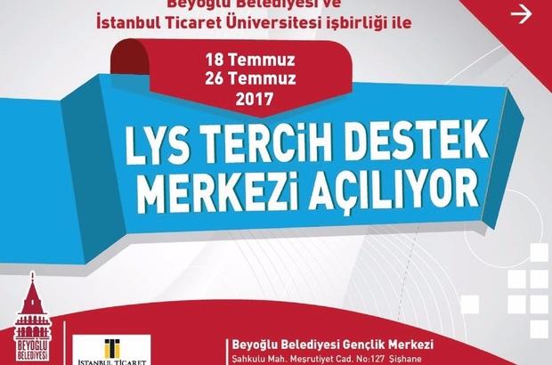 Beyoğlu Belediyesi'nden LYS tercihlerinde öğrencilere tam destek