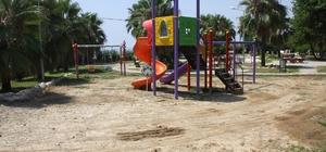 Alanya Belediyesinden 4 mahalleye çocuk parkı