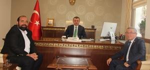 İHA'den Bilecik Valisi Tahir Büyükakın'a ziyaret