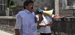 Memur Sen İsrail'i protesto etti