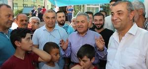 Başkan Büyükkılıç ve ekibi Aydınlıkevler mahallesi halkı ve esnafı ile buluştu