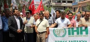 Hatay'da Mescid-i Aksa'nın ibadete kapatılmasına tepki