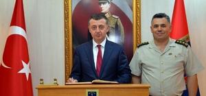 Vali Büyükakın'dan İl Jandarma Komutanlığına ziyaret