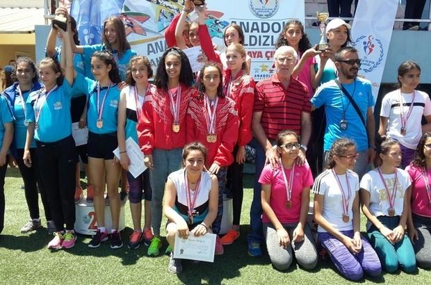 Atletizim şampiyonları Şahintepe'den