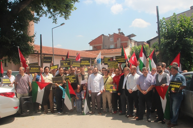 Anadolu Gençlik Derneği'nden Mescid-i Aksa açıklaması