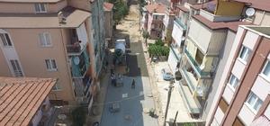 Merkezefendi Karaman'da 13 sokakta çalışmalar devam ediyor