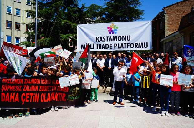 Kastamonu Milli İrade Platformu'ndan İsrail'e tepki
