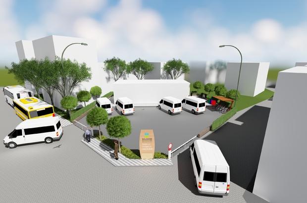 Dursunbey'e Toplu Taşıma Merkezi yapılıyor