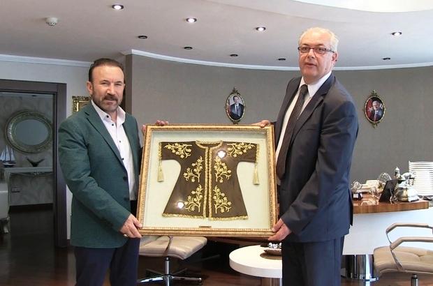 Başkan Doğan, Bosnalı belediye başkanını ağırladı