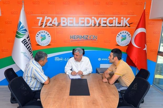 Başkan Polat halk günü görüşmelerinde vatandaşların istek ve önerilerini dinliyor