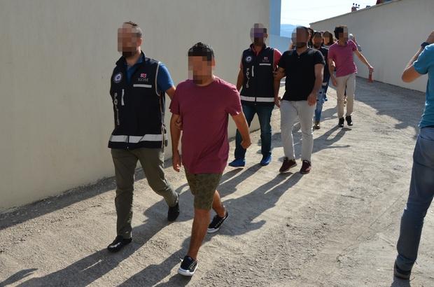 Milas'ta 'Bylock'tan 7 tutuklama, 1 ev hapsi, 7 serbest