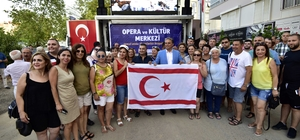 KKTC'li sanatçılar Muratpaşa'da