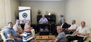 Vergi Dairesi Müdürü Şengül'den KİTSO'ya veda ziyareti
