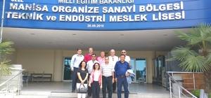 AYTO'dan Manisa OSB'ye ziyaret
