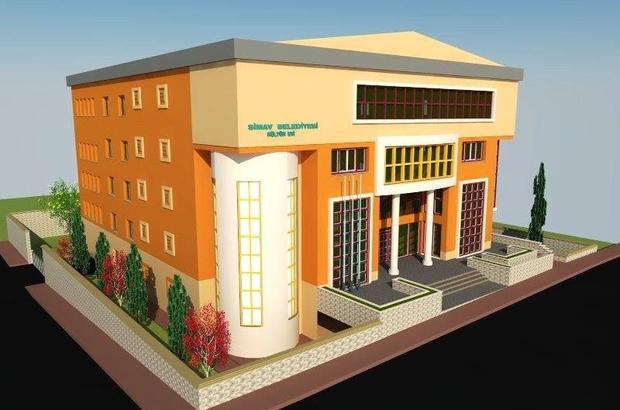 Simav'da kültür sarayı projesi