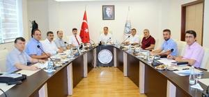Vali Tekinarslan'a 7 Aralık Üniversitesi tanıtıldı