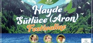 Başkan Demircan, Rize'de düzenlenen Aron Festivali'ne katılacak