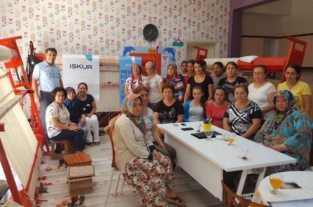 Çanakkale'de dokumacılık kursu