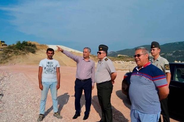 Bilecik İl Jandarma Komutanı İnce'den Bayırköy Beldesi'ne ziyaret