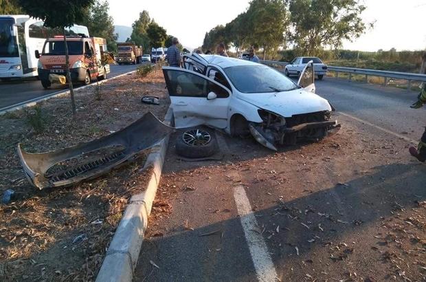 Söke'de trafik kazası; 6 yaralı