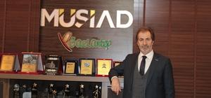 MÜSİAD Başkanı Mehmet Çelenk Basın Bayramını kutladı
