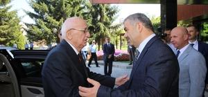 TBMM Başkanı Kahraman, Başkan Çelik'i ziyaret etti