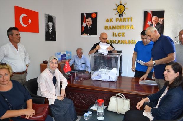 Ak Parti'den delege seçimleri yapıldı