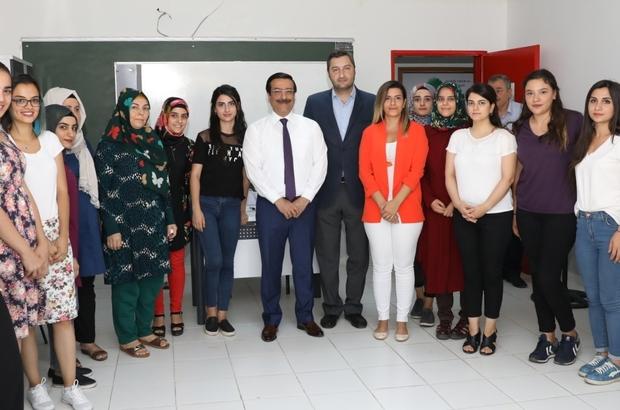 Başkan Atilla, Türkiye'nin en büyük meslek edindirme kampüsünü gezdi