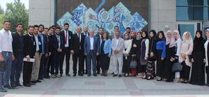 Erzurum Diplomasi Akademisi'nden Başkent mesaisi