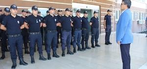 Emniyet Müdürü Alper'den çevik kuvvet polislerine ziyaret
