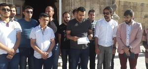"""AK Parti Gençlik Kolları Başkanı Özgür Yönlü: """"Hakları ihlal edilen Müslümanların haklarını korumaya devam ediyoruz."""""""