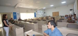 """Büyükşehir personeline """"Acil Durum Yönetimi Eğitimi"""" verildi"""