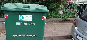 İzmit'te çöp konteynerleri yenileniyor