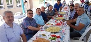aşkan Yağcı, Cumalıköy'deki Harman Pilavı etkinliğine katıldı