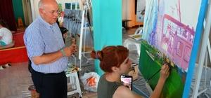 Başkan Eşkinat'tan sanatçılara destek