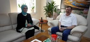 Milletvekili Katırcıoğlu'ndan İlhan Bayram'a ziyaret