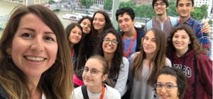 TED'li öğrenciler İngiltere'de