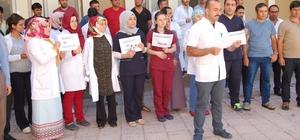Güroymak'ta doktorun darp edilmesi