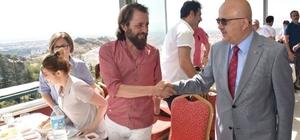 Başkan Çoban, 24 Temmuz Basın Bayramı'nı gazeteciler ile kutladı