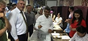 Uşak AK Parti'de kongre süreci, delege seçimiyle başladı