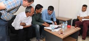 Muş'ta altyapı projesinin durum değerlendirmesi yapıldı