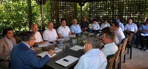Bilecik Belediye Başkanı Yağcı, Haftalık İstişare Toplantısı gerçekleştirdi