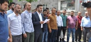 AK Partili gençlerden İsrail'e tepki