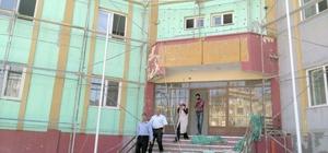 Fen Lisesi yurt onarım çalışmaları devam ediyor
