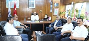 GMİS yönetimi, TTK'da göreve atanan yöneticileri ziyaret etti