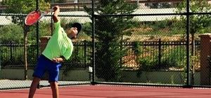 14 Yaş Yaz Kupası Tenis Turnuvası başladı