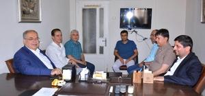 utlu'dan gazeteciler cemiyetlerine Basın Bayramı ziyareti