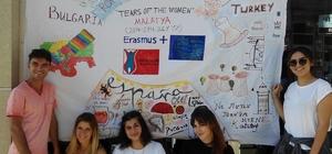 Beş ülkeden 43 genç aile içi şiddet'i araştırmak için Malatya'da
